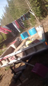 Utility trailer from 16' camper