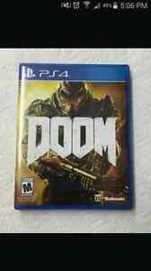 Doom for ps4 for uncharted  4 or mafia 3