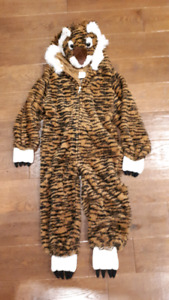 Halloween child costume tiger size 3-5