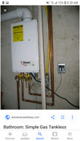 Technician wanted to install tankless system in London