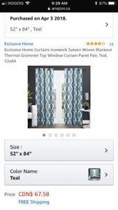 Home Blackout Thermal Curtains