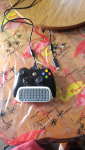 Xbox 360 controller plug and play cord chat pad