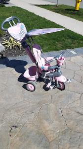 Little tikes pink 4 in 1 bike