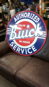 FORD CHEVY MOPAR BUICK PARTS AND SERVICE SIGNS