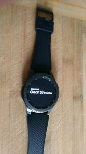 Samsung Gear S3 Frontier with CHARGER Smart Watch/ GPS navigatio