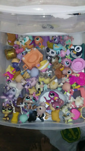 39 Littlest Pet Shop and accessories