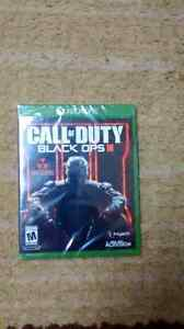CALL OF DUTY BLACK OPS 3 WITH NUK3TOWN BRAND NEW SEALED XBOX ONE
