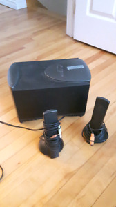 Computer speakers 2.1 with subwoofer
