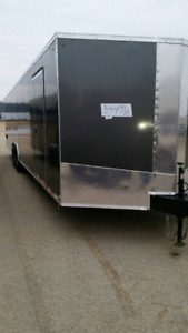 New 2018 5x10 6x12 7x14 8.5x16 20 24 28 32 enclosed trailers