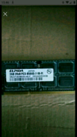 DDR2 2gb is £10 1gb is £6 512mb is £3