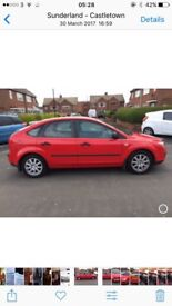Ford Focus 1.6 zetec,2006 Reg, good condition inside and out,£999.