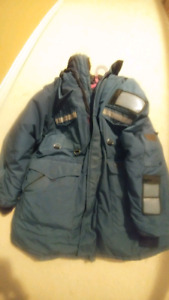 Goose down expedition parka. EUC