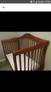 Baby crib to toddler bed