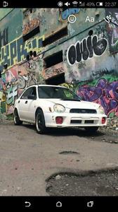 Subaru impreza 2005 4x4 monter wrx-sti