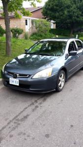 Selling 2003 Honda Accord Changed Engine