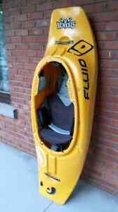 Kayak de rivière et de surf (nemesis de fluid small