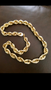 Huge gold chain may trade