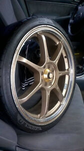 4 set of tires with rims for sale!