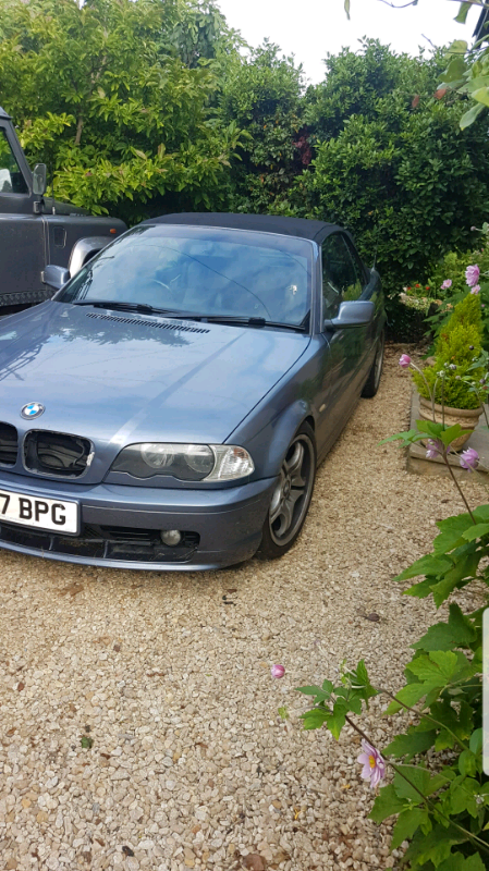 BMW e46 convertible 2 2 | in Yeovil, Somerset | Gumtree