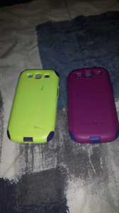 2 otter box cases for sale, a LG case, Extra Samsung back cover