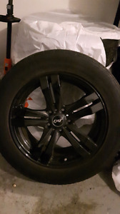 Aftermarket rims and tires 225/55/17
