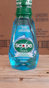 Scope mouthwash by the Case