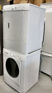STACKABLE GE LAUNDRY SET FOR SALE