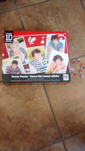 One Direction Puzzle and Bracelet