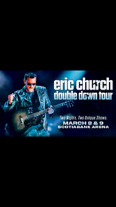 Selling 3 Eric Church tickets