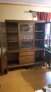 Antique chin cabinet