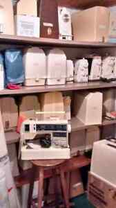 Great sewing machines- singer brother ect,