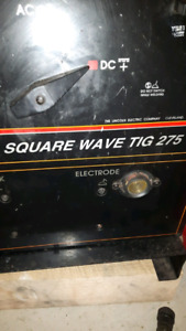 Lincoln 275 square wave tig trade for 5 bolt ram rims and tires