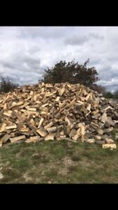 SEASONED MIXED FIREWOOD.   95 / face cord.
