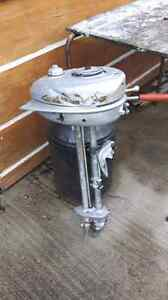 Antique Evinrude outboard motor