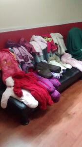 AUBAINE Lot de manteaux et habits extérieurs fille GR 1 à 3 ans