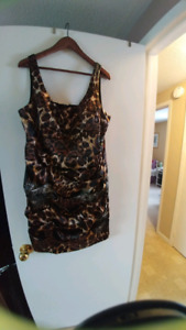 Leopard Dress Silky