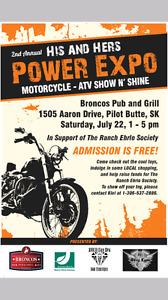 2nd Annual His & Hers Power Expo Motorcycle & Atv Show & Shine