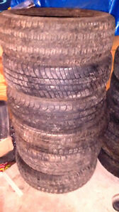 ASSORTED USED TIRES AND RIMS