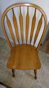 4 Chaises de table à vendre