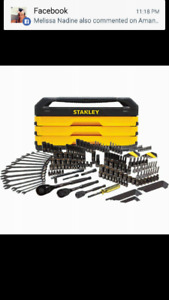 Stanely professional mechanic set