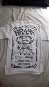 Brass Knuckle Jack Daniel's mock tee