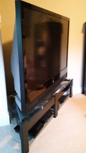 "72"" TV SAMSUNG WITH STAND"