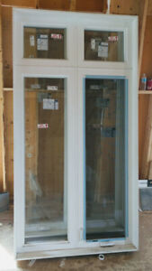 """Two New Windows    Size  48"""" X 92""""  Open Right & Left"""