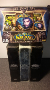 World of Warcraft Collector's edition + games