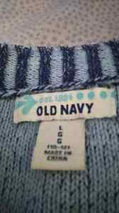 LG Blue Kids (girls) Old Navy Sweater  Cambridge Kitchener Area image 2