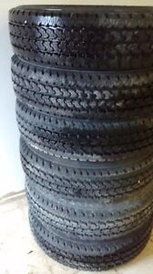 6 New Firestone Transforce AT Dually tires