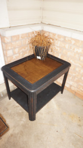 porch table great for showcasing plants price is firm