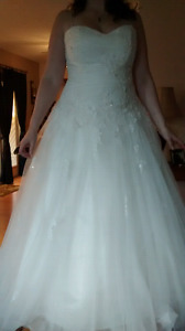 F or Sale  New Wedding Gown price lowered