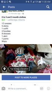 0 to 3 and 3 month clothes