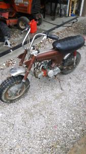 1972 Honda CT 70 runs and drives $400